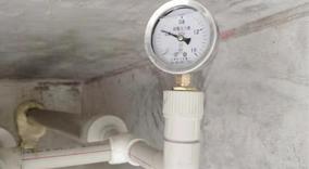 水管道二二次测试,保障管道的密闭性,完整性